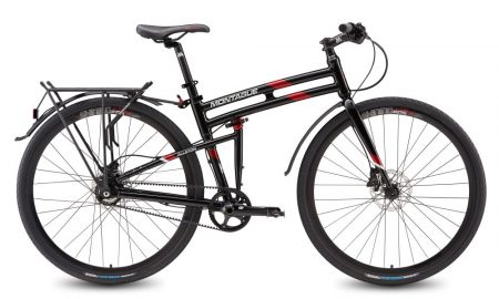 montague allston commuter chainless folding bicycle
