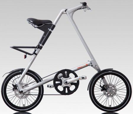 strida EVO 3 sebességes láncnélküli összecsukható kerékpár sand silver