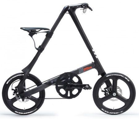 """strida C1 láncnélküli összecsukható kerékpár 18"""" Carbon"""