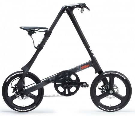"strida SX chainless foldig bicycle 18"""