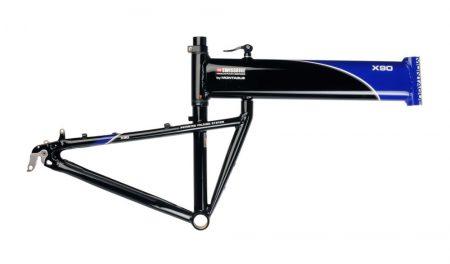 montague swissbike X90 összecsukható kerékpár váz