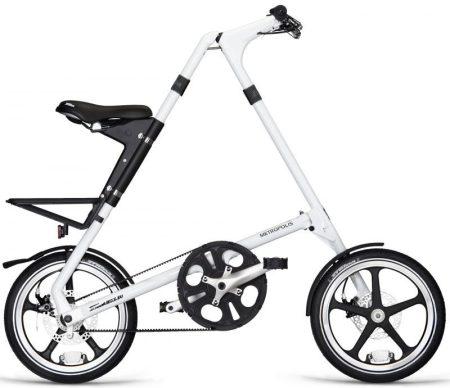 strida LT láncnélküli összecsukható kerékpár white
