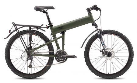 montague paratrooper disc összecsukható kerékpár