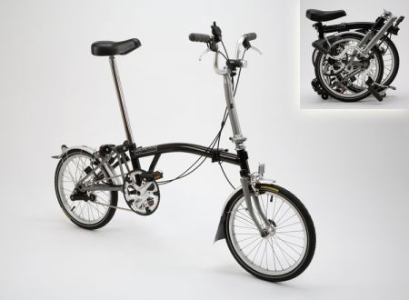 brompton M3L összecsukható kerékpár