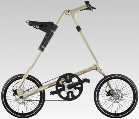 strida EVO 3 sebességes láncnélküli összecsukható kerékpár spark
