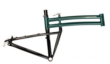 montague FIT összecsukható kerékpár váz villával