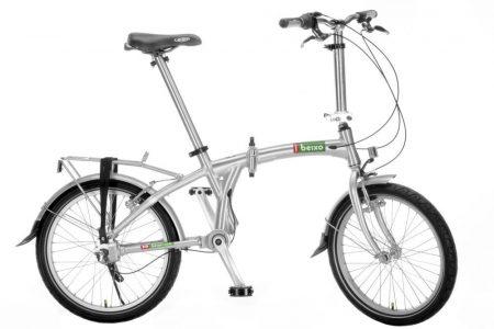 beixo compact high 7 láncnélküli összecsukható kerékpár