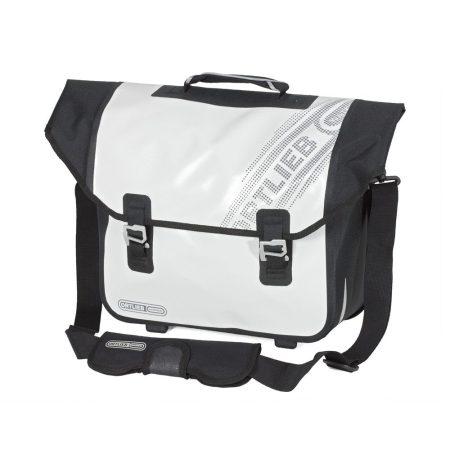 vízhatlan táska hátsó csomagtartóra Ortlieb Downtown Black'n White QL2.1 F7311-13