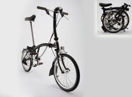 brompton S3RD összecsukható kerékpár
